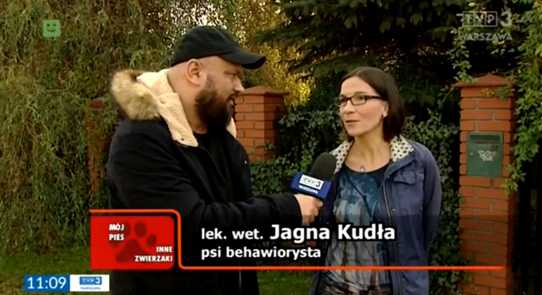dr n. wet. Jagna Kudła wywiad w TVP3 o tym dlaczego psy wyją i jak temu zapobiec