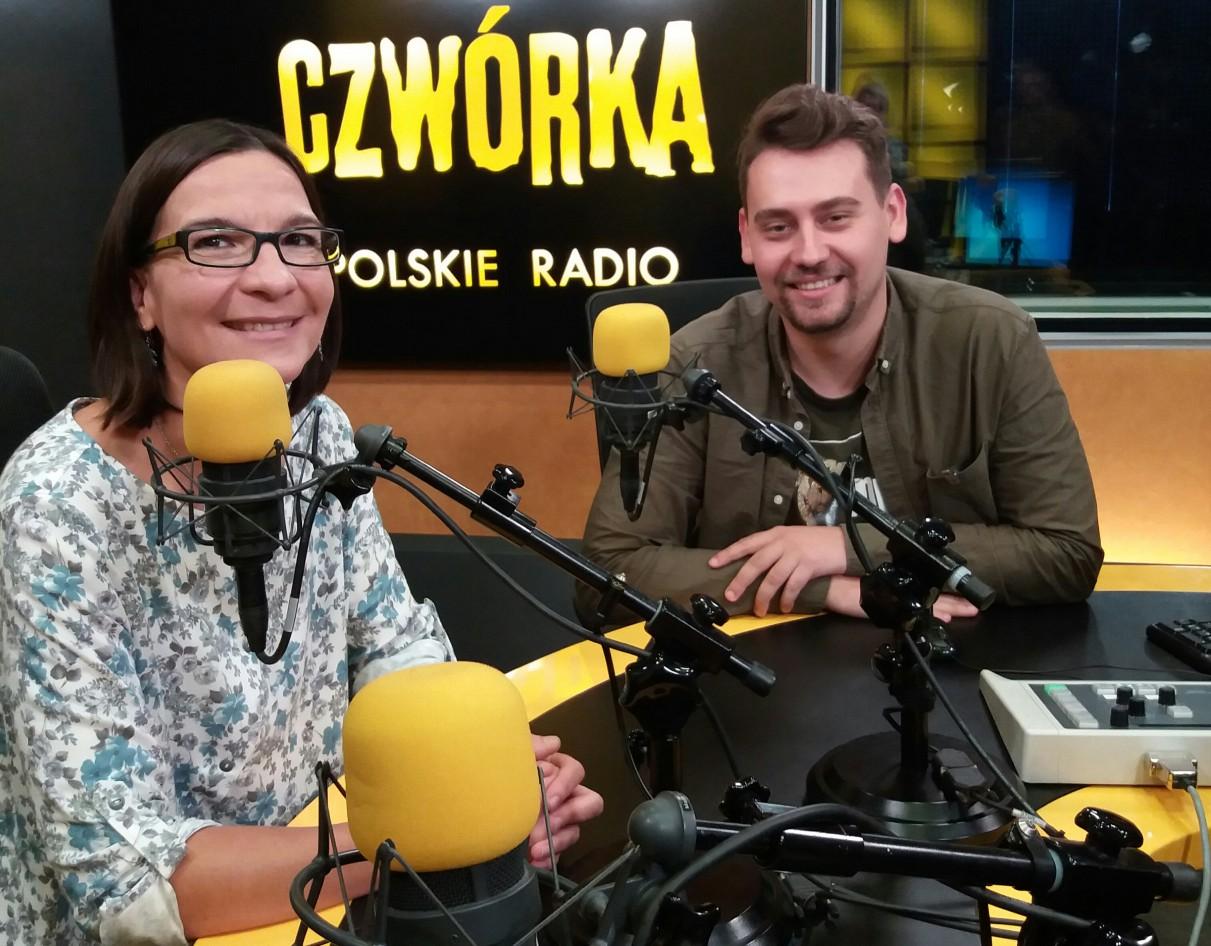 Jagna Kudła i Kacper Kowalczyk w Programie 4 Polskiego Radia
